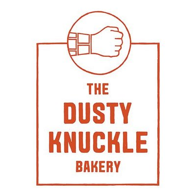 The Dusty Knuckle Bakery Logo